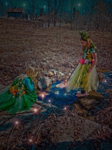 The fairies must work together in tandem capturing enough light to empower their wands for one full season straight through to the following year.