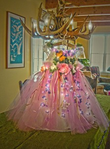 A fairy fine dress for the Ball.