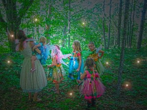 The fairies come from near and far