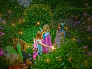 Midsummer at twilight when the fairy folk dance a