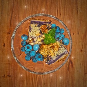Blueberry Bars Fairy Style